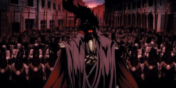 Hellsing Ultimate VIII ©  © 2006 Kouta Hirano SHONEN GAHOSHA Co. LTD. / WILD GEESE