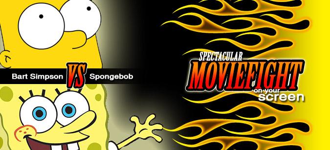 Moviefight: Bart Simpson vs. Spongebob Schwammkopf